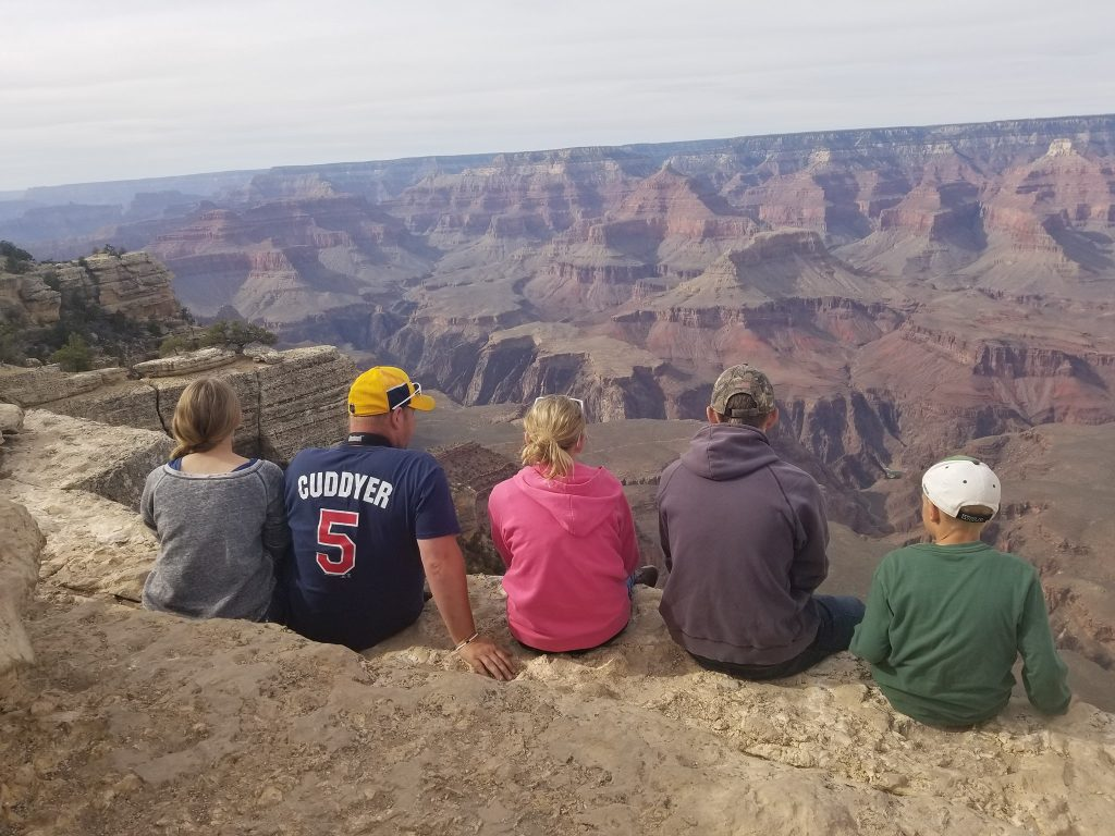 Grand Canyon National Park. See the Grand Canyon, explore Arizona. Using visits to National Parks to teach about geology. Full time travel to teach about geography and science.