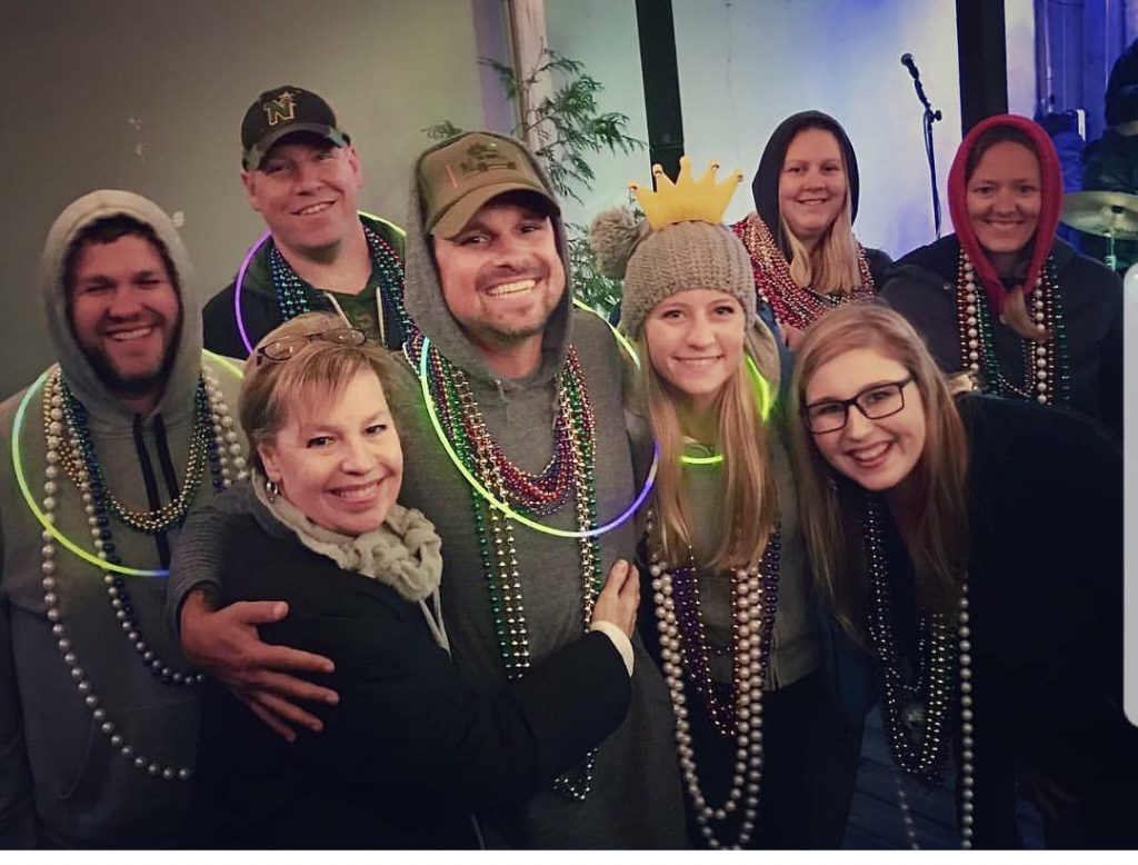 Mardi Gras Fairhope Alabama. Meeting up with Drivin and Vibin. Drivin and Vibin meet up. Making new friends while traveling full time. Using Instagram to meet new friends while traveling full time.